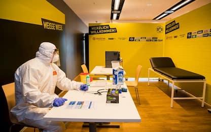 Coronavirus, stadio Dortmund diventa un ospedale