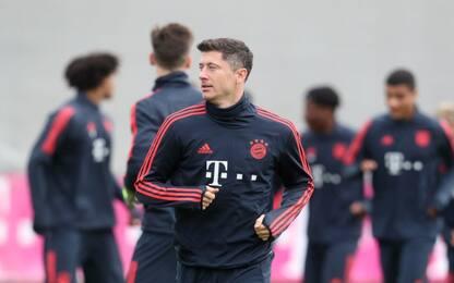 Bayern riprende gli allenamenti: lavoro a gruppi