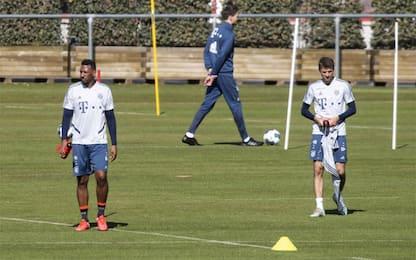 Bayern, primo allenamento senza contatti. FOTO