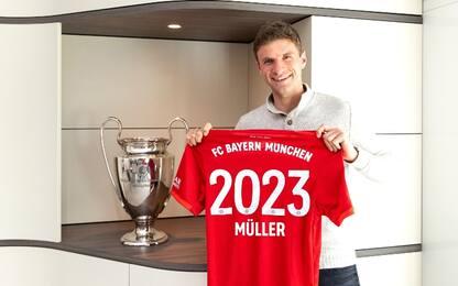 Muller rinnova col Bayern: insieme fino al 2023