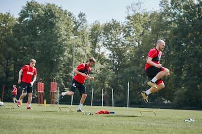 3 positivi nel Colonia: gli allenamenti continuano