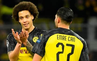 Il Borussia perde Can e Witsel: saltano lo Schalke