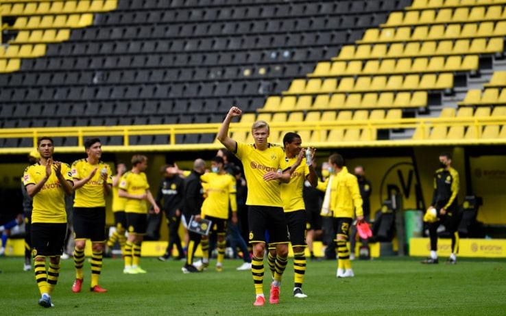 Borussia Dortmund-Schalke 4-0: gol e highlights. Haaland ...