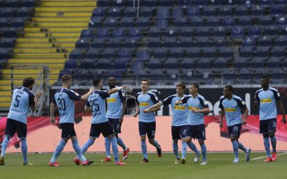 Gladbach scatenato: 3-1 all'Eintracht e 3° posto