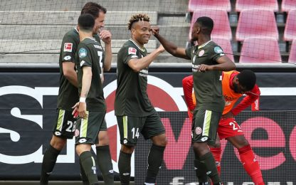 Il Colonia spreca: il Mainz rimonta da 0-2 a 2-2