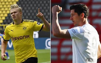 Haaland-Lewandowski, chi è il più forte? VOTA