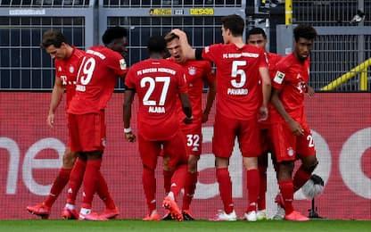 Kimmich beffa il Borussia: il Bayern vola a +7