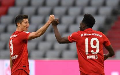 Il Bayern vede il titolo: Dusseldorf demolito 5-0