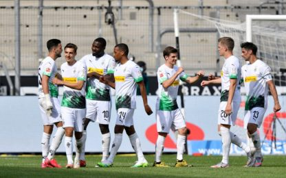 Doppio Thuram e Plea, Gladbach batte Union 4-1