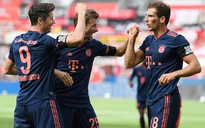 Bayern inarrestabile, 4 gol anche al Leverkusen