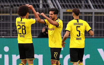 Al Dortmund basta Can, Hertha battuto 1-0