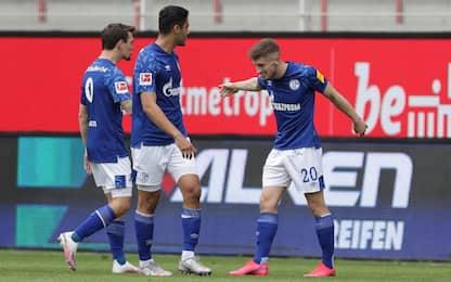 Union-Schalke 1-1: Kenny risponde a Andrich