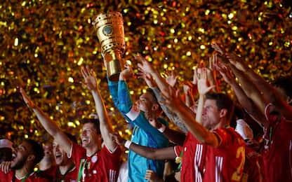 La festa del Bayern continua. sua anche la Coppa
