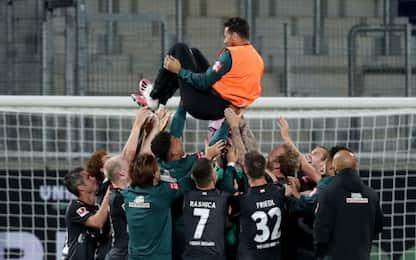 Werder Brema, salvezza con brivido nello spareggio