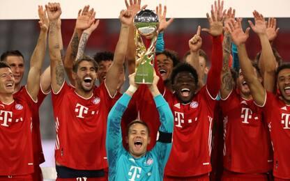 Il Bayern vince la Supercoppa: 3-2 al Dortmund