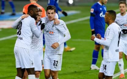 Gladbach pronto per l'Inter: è 4-1 allo Schalke