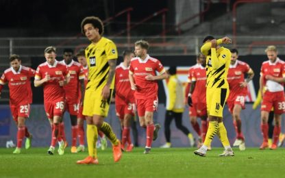 Borussia Dortmund ko a Berlino: vince l'Union 2-1