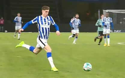 Segna anche Piatek: Hertha-Schalke 3-0. Highlights