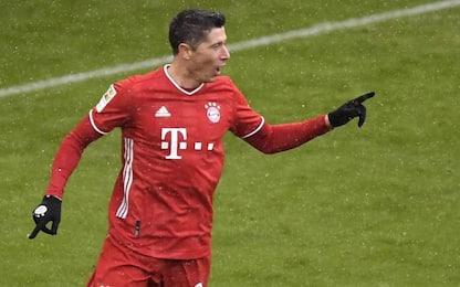 Che record Lewandowski: 21 gol nel girone d'andata