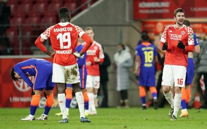 Lipsia ko, 3-2 col Mainz penultimo in classifica