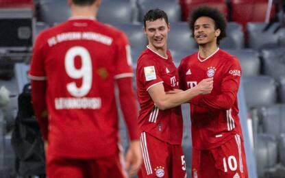 Il Bayern non si ferma: 4-1 all'Hoffenheim