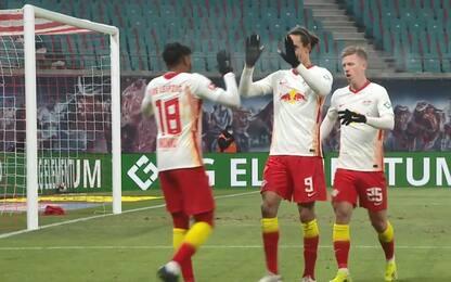 Lipsia-Augsburg 2-1: highlights