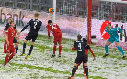 Bayern, rimonta nella neve con l'Arminia B.: 3-3