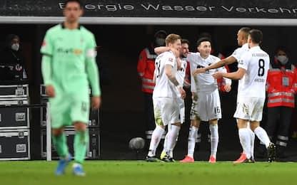 Augsburg-Borussia 3-1: highlights