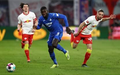 Il Lipsia si inceppa, 0-0 con l'Hoffenheim