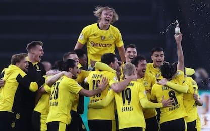 Al Dortmund la Coppa di Germania, Lipsia ko 4-1