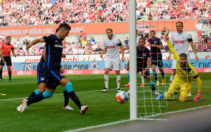 Jovetic, gol in Colonia-Hertha Berlino: a segno in tutti i top 5 campionati  europei | Sky Sport