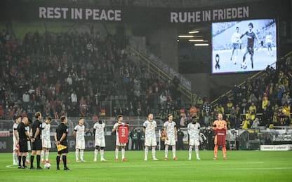 Dortmund-Bayern, minuto silenzio per Gerd Müller