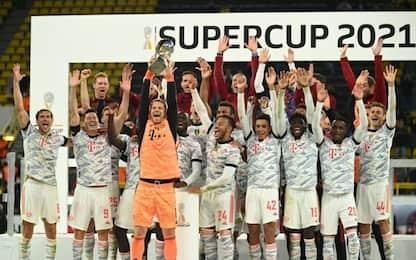 Doppio Lewa, al Bayern la Supercoppa: Dortmund ko