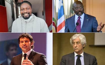 Da Ebagua a Weah, i calciatori diventati politici