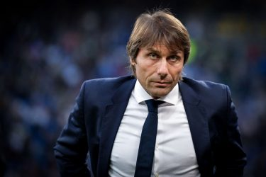 MILAN, ITALY - OCTOBER 26: Coach Antonio Conte of Internazionale during the Italian Serie A   match between Internazionale v Parma at the San Siro on October 26, 2019 in Milan Italy (Photo by Mattia Ozbot/Soccrates/Getty Images)