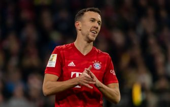MUNICH, GERMANY - NOVEMBER 09: Ivan Perisic of FC Bayern Muenchen looks on during the Bundesliga match between FC Bayern Muenchen and Borussia Dortmund at Allianz Arena on November 9, 2019 in Munich, Germany. (Photo by TF-Images/Getty Images)