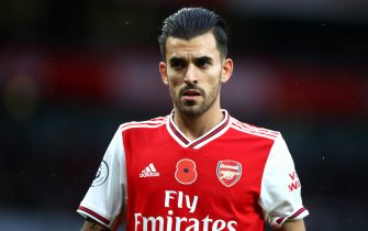 LONDON, ENGLAND - NOVEMBER 02: Dani Ceballos of Arsenal during the Premier League match between Arsenal FC and Wolverhampton Wanderers at Emirates Stadium on November 02, 2019 in London, United Kingdom. (Photo by Chloe Knott - Danehouse/Getty Images)