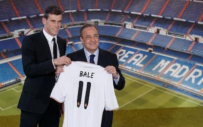 I più costosi del 2013, Bale scatta al terzo posto