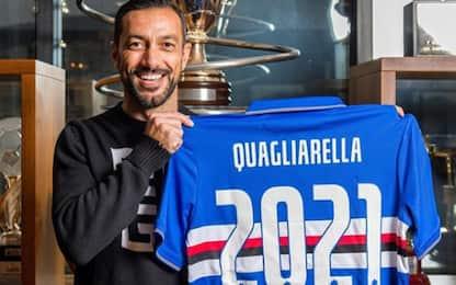 Sampdoria, Quagliarella rinnova fino al 2021