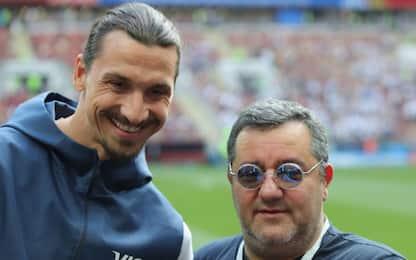 "Raiola: ""Ibra ha salvato il Milan. Gigio..."""