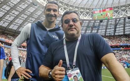"""Raiola: """"Ibra aumenterebbe l'appeal della Serie A"""""""