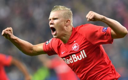 Juve, Lipsia e Dortmund su Haaland: nodo clausola