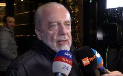 "De Laurentiis: ""Ibra? Ora ho altre priorità"""