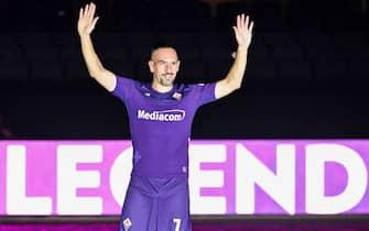 Fiorentina, la presentazione di Ribery
