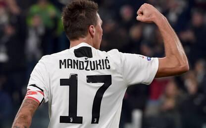 """Mandzukic, il saluto della Juve: """"Grazie Marione"""""""