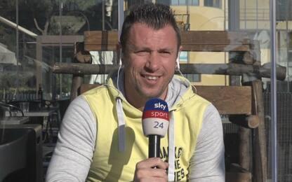 """Cassano: """"Milan, con Ibra tutti daranno il 110%"""""""