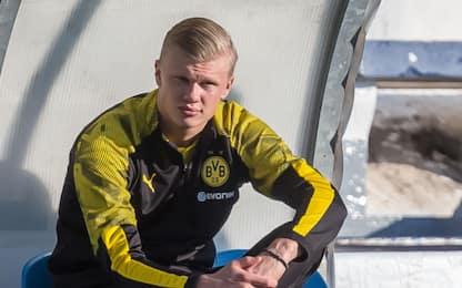 Haaland-Dortmund, spunta clausola: via nel 2022?