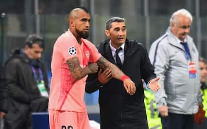 """Valverde trattiene Vidal: """"Convocato per giovedì"""""""