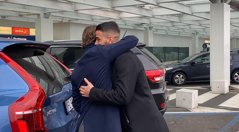 Spinazzola a Linate