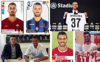 La collezione di Spinazzola: 9 squadre in 8 anni